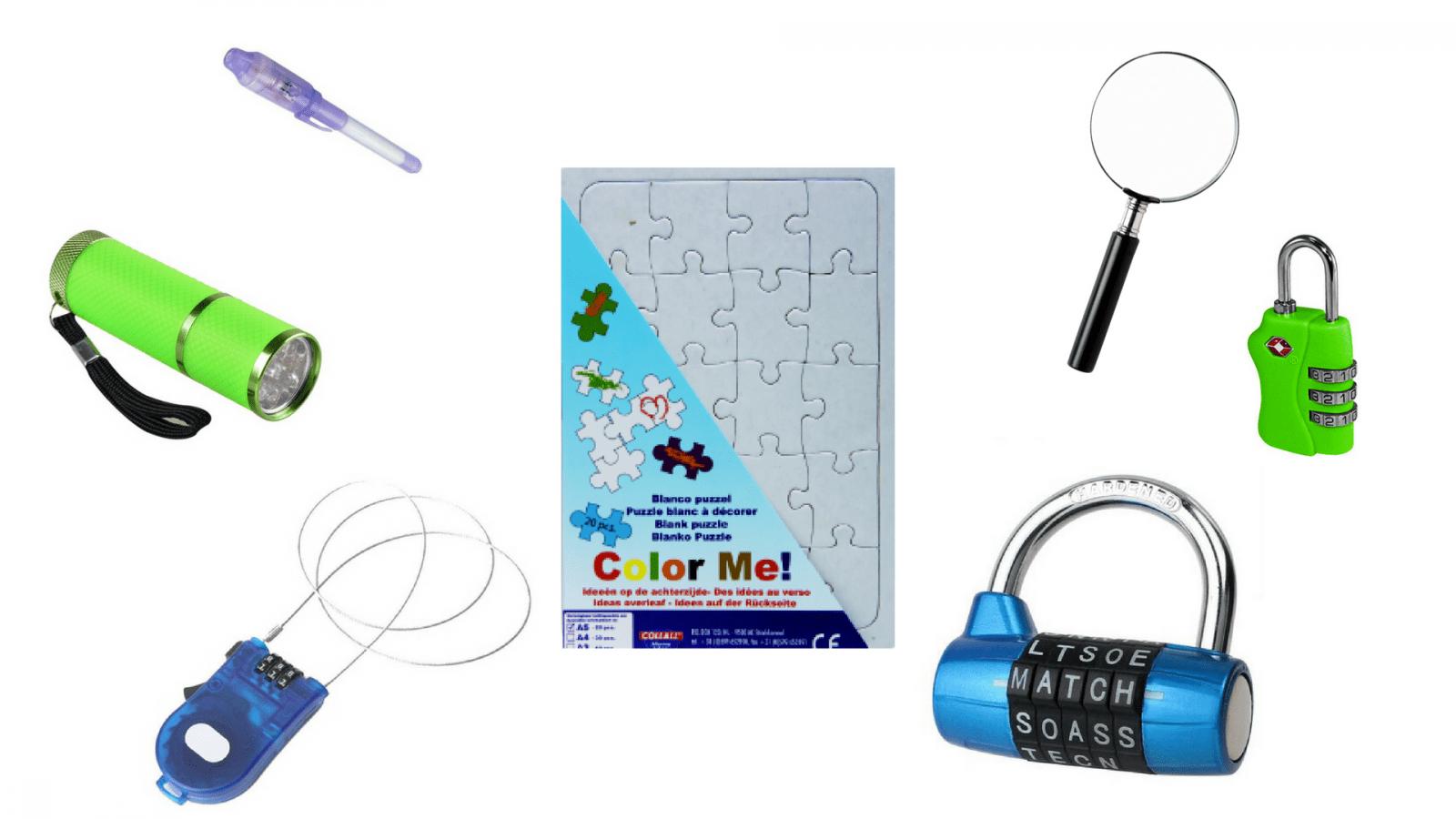 Escape the classroom materiaal