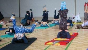 Yoga in de klas